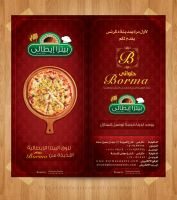 Borma Menu Pizza Brochure by fewela