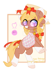 Candied Apple Fae [CLOSED] by Drago-Draws