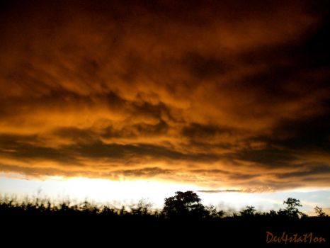 The end of the world? by Dev4stat1on