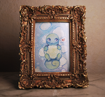 Tiny Squirtle by Hardrockangel