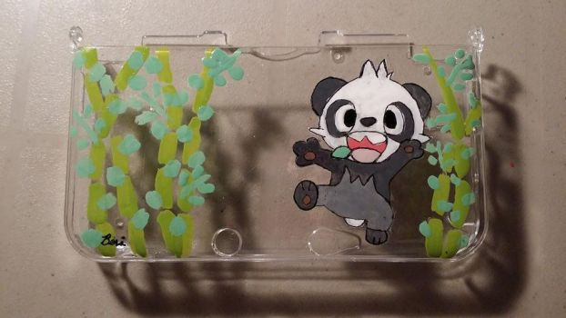 Pancham 3DS case by xHoshaxBerizx