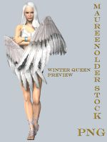 STOCK PNG winter queen preview by MaureenOlder