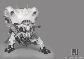 WhiteRobot by liove
