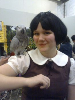 Snow White and a... parrot? by Thymegirl