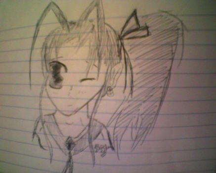 Anime Scratch Sketch by xXprincesslunam00nXx
