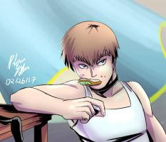 MP100: MangaColored! Reigen by witch-girl-pilar
