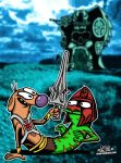 Catdog Of The Universe! by CreedStonegate