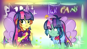 EG Princess Twilight Fan Ponies by YayCelestia0331