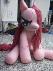 Angry Pinkamena Plush by charletothemagne