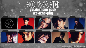 EXO MONSTER FOLDER ICON PACK by HayoungPark