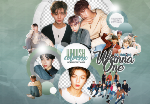 WANNA ONE PNG PACK #6/NOTHING WITHOUT YOU by UpWishColorssx