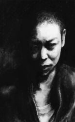 Dir En Grey - Kyo (Quick Digital Painting) by Coffeeandspiders