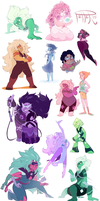 GEM HELL art dump by MrsDrPepper