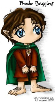 Chibi Frodo by Kagami by mirime