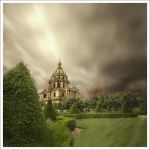 Invalides before the rain. by Graphylight