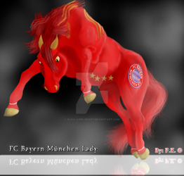 Fc Bayern Munchan Lady by Klau--Lion-Heart