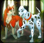 Jenna and Pongo by FireMoon9