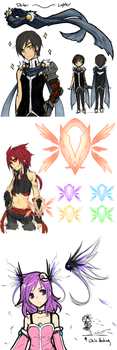 Elsword - Accessories by himichu