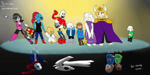 Undertale | First Anniversary by Minish-Mae