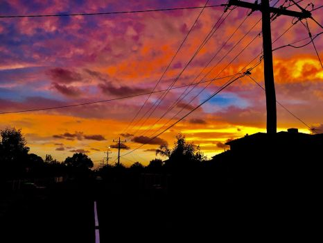 Sunset Like Teh Eighties by UnknownByHumans