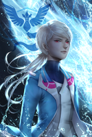 Team Mystic - Blanche by myetie