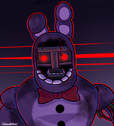 Withered Bonnie by itsaaudraw