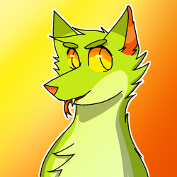 green snek doggo by Artstc-Fox