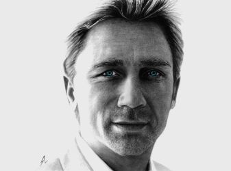 Daniel Craig by Electricgod