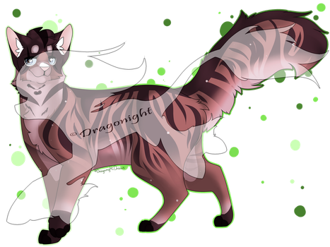 comission for ArtCatto by DragonightDraws