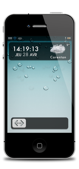 Lockscreen iOS5 by Laugend