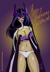 Huntress Birthday to Me by Inspector97