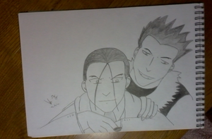 Greed and Kimblee by Veggy4ever