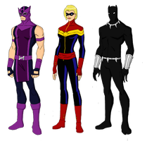 Avengers Redesigns 2 by jsenior