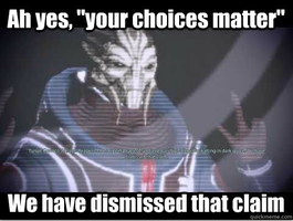 Turian Councilor's take on the ME3 endings by HowlShep