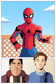 Spider-Man Homecoming by OwenOak95