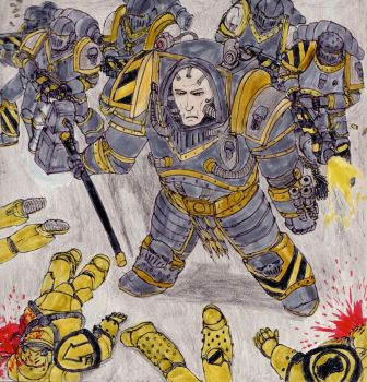 Perturabo Primarch of the Iron Warriors by toht981