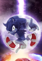 Original - Sonic The Hedgehog #265 Variant Cover by Elesis-Knight
