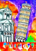 Leaning tower of Pisa by minidynz