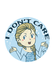 Elsa - I don't care by TyaKo-and-Apple