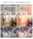 Faerie Vintage Photoshop Action by lieveheersbeestje