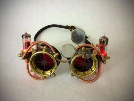 My Personal Goggles by CraftedSteampunk