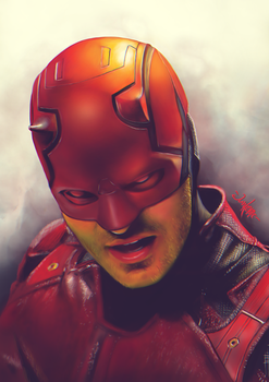 Daredevil by junkome