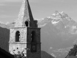 Swiss Bell Tower by Angelman8