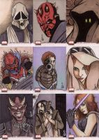 Star Wars Galaxy 4 cards 1 by ragelion