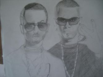 Wisin y Yandel by VampireAspiration