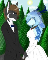 Commission: Wedding by Blitzy-Arts