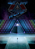 Daft Punk Alive Poster by BlueWizardCz