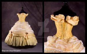 Belle's Ball Gown 3 by Caliypsoe