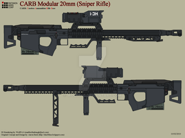 Avatar 20mm Sniper Rifle by Wolff60