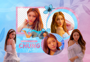 PNG PACK: ChungHa #3 (LOVE U) by Hallyumi